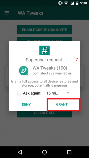 Enable Pinned Chat Feature In WhatsApp